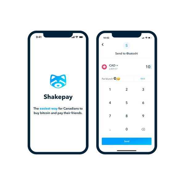 Pay friends instantly⚡️ and for free on Shakepay