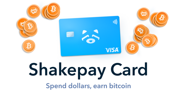 Introducing the Shakepay Card 💳